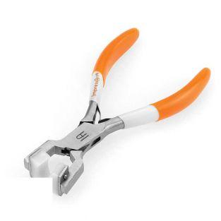 Metal strip bending pliers