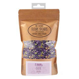 Fleurs séchées décoratives Mauve 10 g