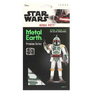 Maquette 3D en métal Star Wars - Boba...