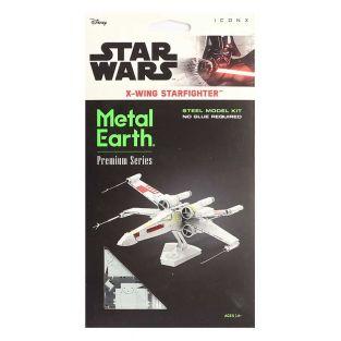 Star Wars modello 3D in metallo - X-Wing