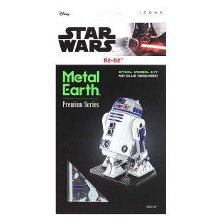 Star Wars modello 3D in metallo - R2D2
