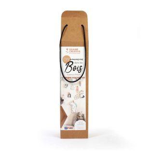 Polymer Clay Box - Wald und Tiere als...