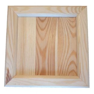 Marco cuadrado de madera - 21,5 x...