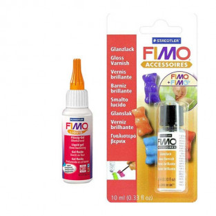 FIMO Soft Liquid 50 ml + Glanzlack 10...