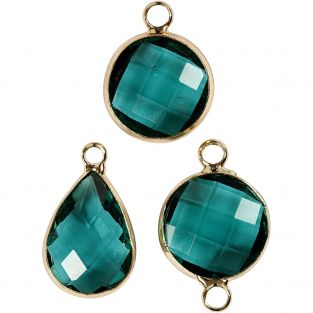 6 ciondoli per gioielli da 15 a 20 cm...
