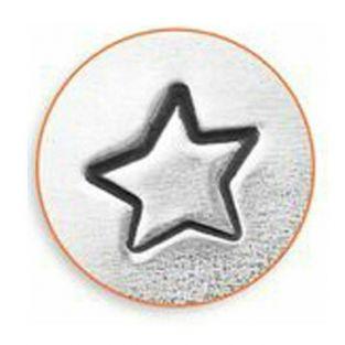 Poinçon étoile pour gravure métal - 3 mm