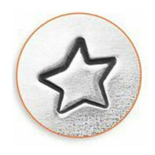 Star punch for metal engraving - 3 mm