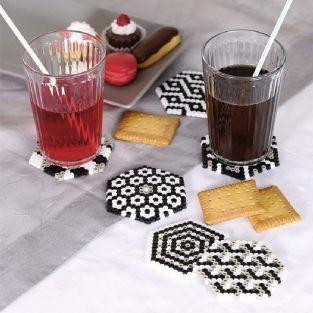 Set ironing beads Coasters - Geometric