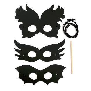 4 masques à gratter - Festival