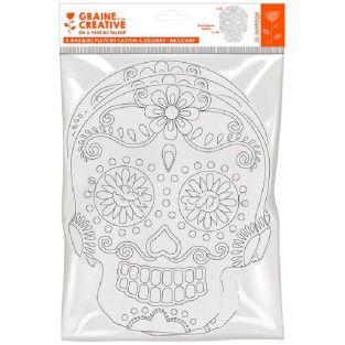 6 maschere di cartone piatte da...