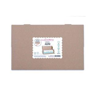 2 cajas de cartón para troncos de...