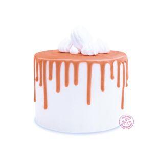 Glaçage au chocolat orange 130 g