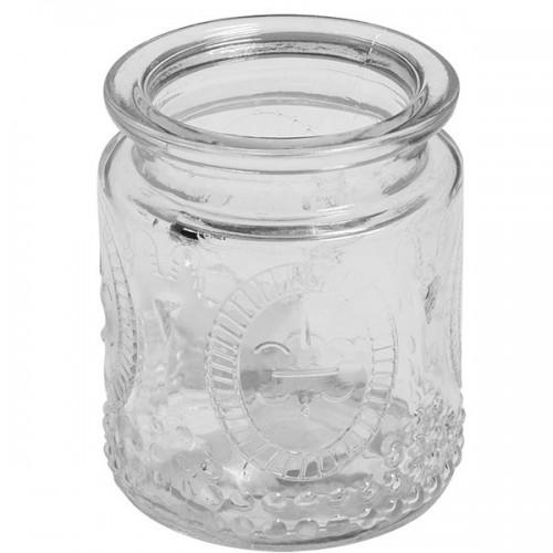 Vintage glass container