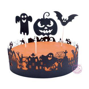 Halloween-Kuchendekoration