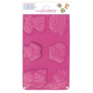 Silicone mould 6 designs - Forest...
