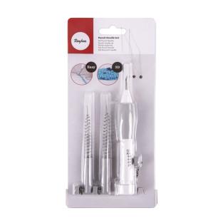Set d'outils à punch needle - 5 pièces