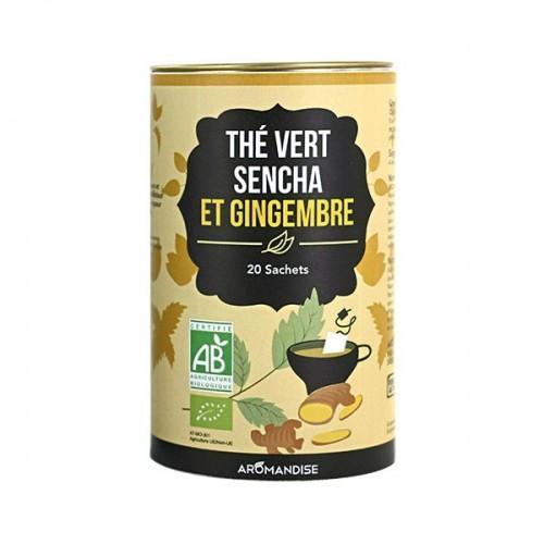 Thé vert Sencha et Gingembre - 20 sachets