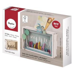 Kit DIY - Urne en bois 3D pour...