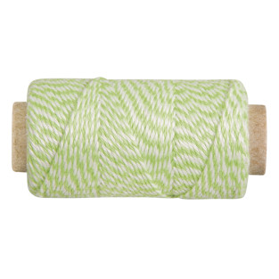 Light green and white baker twine 35...