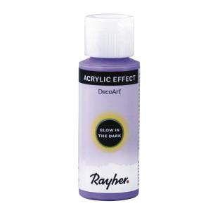 Fluorescent acrylic paint 59 ml - purple