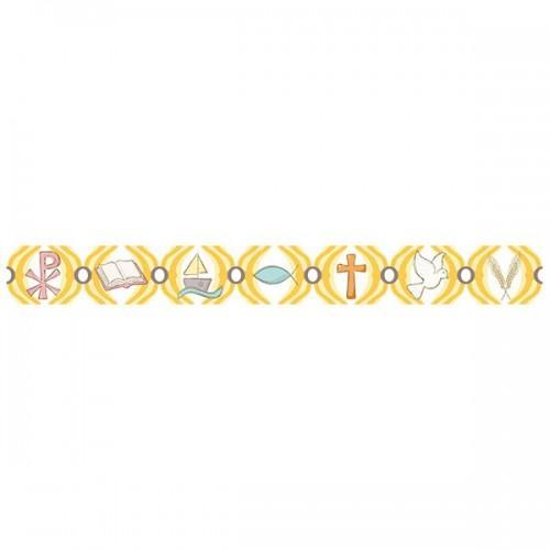 Washi Tape jaune - chrétiens