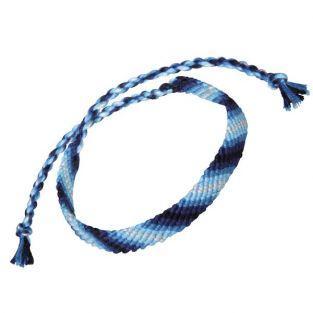 Cotton yarn for friendship bracelet - blue
