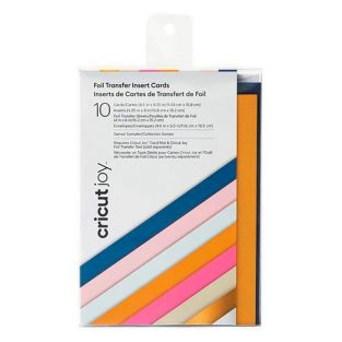 10 Cricut Multicolour Folienkarten...