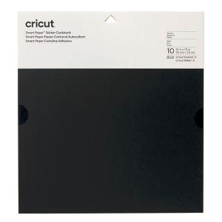 10 self-adhesive cardstock sheets...