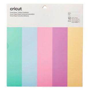 10 selbstklebende Pastellkartons 33 x...