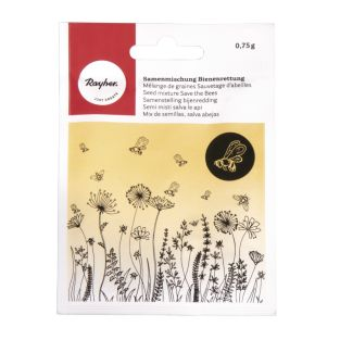 Mischung aus Blumensamen für Bienen