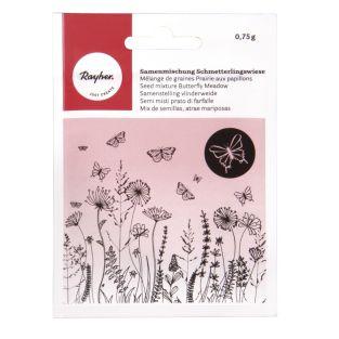 Blend of flower seeds for butterflies