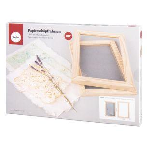 Molde de marco para hacer papel...