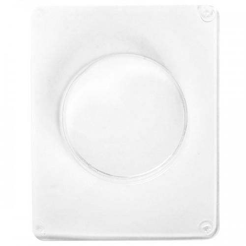 Molde con forma círculo for hormigón creativo - 7,5 cm