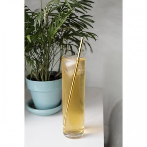 Golden straws x 144