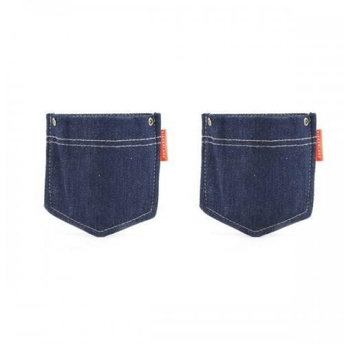 Wall pockets jean x 2