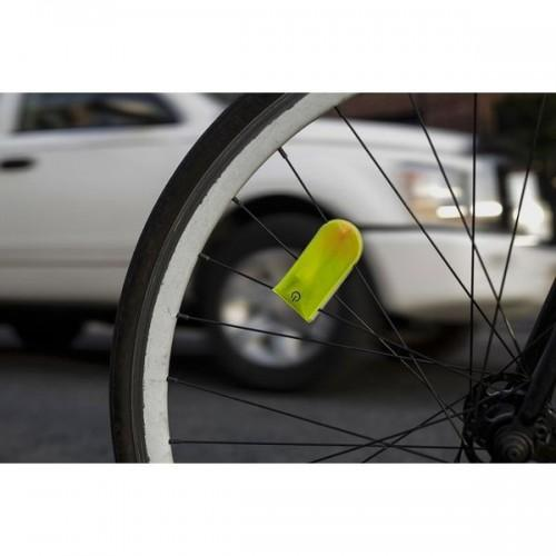 Reflective clip for bicycle