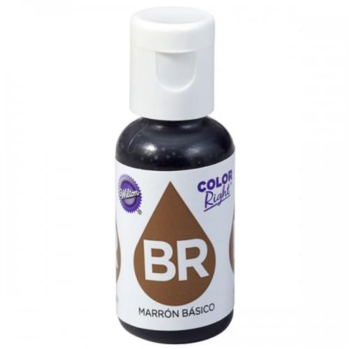 Colorante alimentario 19 ml - marrón
