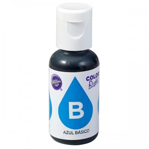 Colorante alimentario 19 ml - azul