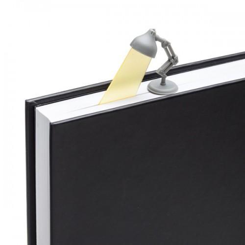 Bookmark gray lamp