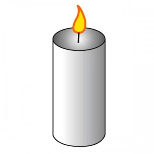 Moule à bougie cylindre Ø 5 cm