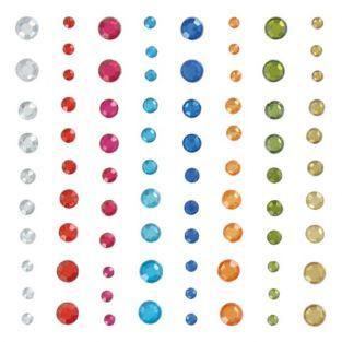 Perles autocollantes Diamant