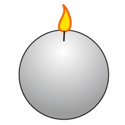 Moule à bougie boule Ø 8 cm