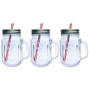 Mugs Mason Jar x 3