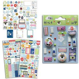 Kit scrapbooking - Connected