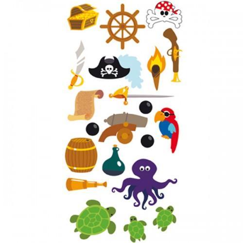 Stickers 3D Pirate