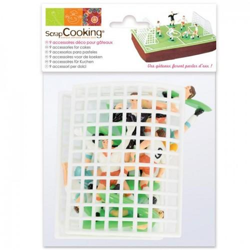 Cake accessories kit - Football
