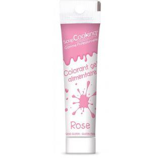 Gel colorante comestible rosa 20 g