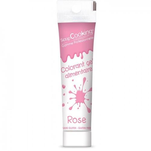 Gel colorant alimentaire rose 20 g