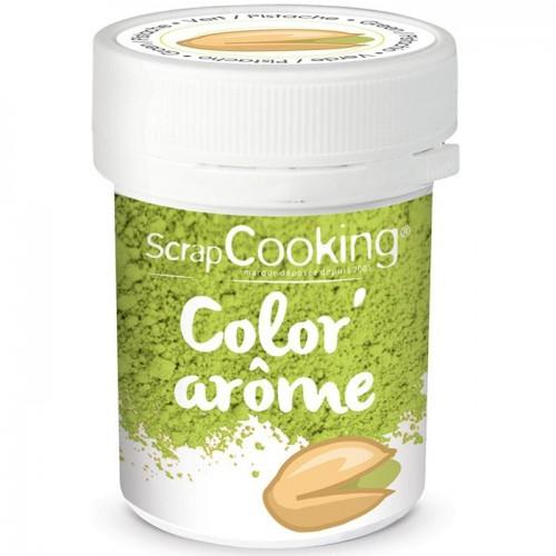 Colorant alimentaire vert - arôme pistache 10 g