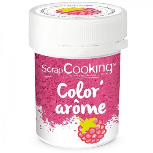 Pink food dye Raspberry flavor - 10 g